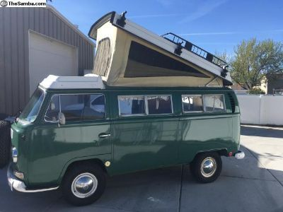 1968 Transporter Bus Camper