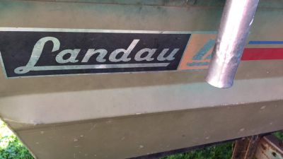 10' Landau Aluminum Boat OBO