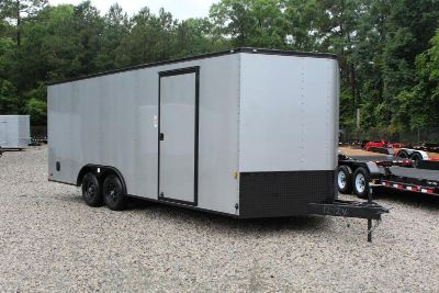 8.5x20 10K Enclosed Trailer with Blacked Out Package