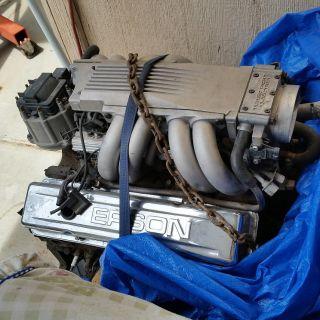 Tune Port Corvette engine