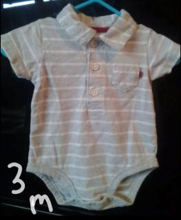 Carter's polo style onesie