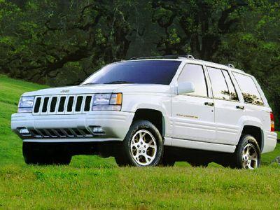 1997 Jeep Grand Cherokee TSi (Flame Red Clear Coat)