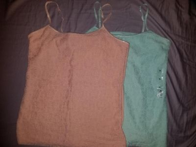 2 new lace cami