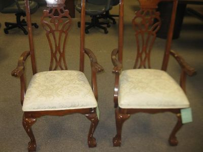 $200, Matching antique side chairs