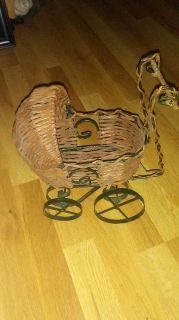 Colectible miniature doll carriage