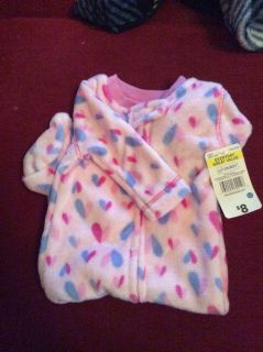 3-6 months NWT all in one infant sleeper