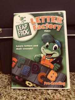 Leap Fros Letter Factory DVD