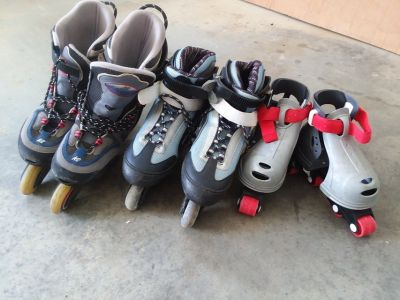 Roller skates for the whole family