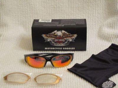 Find New Harley Davidson 606 Shock Orange/Black Frame Sunglasses Goggles #97284-06V motorcycle in Wooldridge, Missouri, United States, for US $27.00