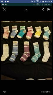 BRAND NEW Infant to Toddler Socks*Tons of different styles and colors