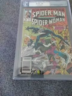Peter Parker Spectacular Spiderman #126 May 1987 pgx 7.0