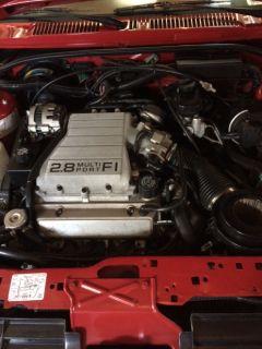 1988 Z-24 cavalier convertible