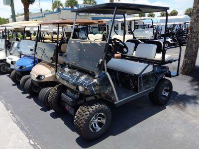 1997 Club Car 4 Passenger Lifted Camo Golf Golf Carts Fort Pierce, FL