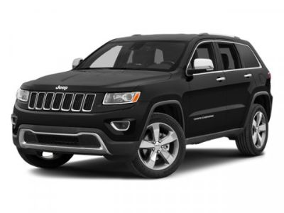 2014 Jeep Grand Cherokee Overland (White)