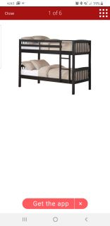 Bunk beds w/Mattress'