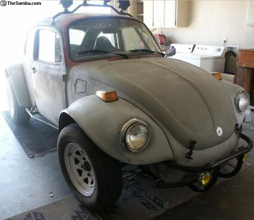 VW Beetle Baja Bug, 2110cc, 1974 Super