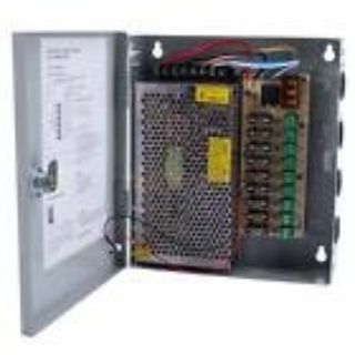 NEW 9 Ports Channel DC 24V 5A Power Supply Distribution Box for CCTV