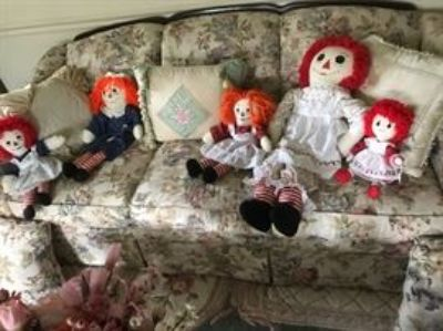 Estate sale with antiques and collectibles