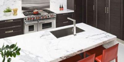 Marble countertops Kenmore