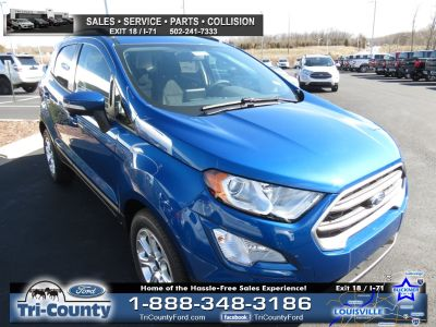 2018 Ford EcoSport SE (Lightning Blue Metallic)