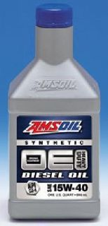 $1 AMSOIL OE 15W-40 Synthetic Diesel Oil
