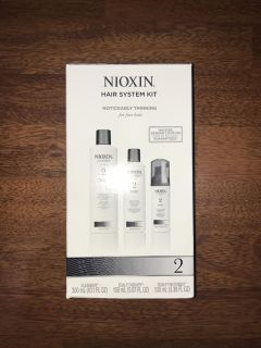 Nioxin 2 Hair System Kit for Thinning Hair Loss