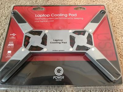 Unopened laptop cooling pad