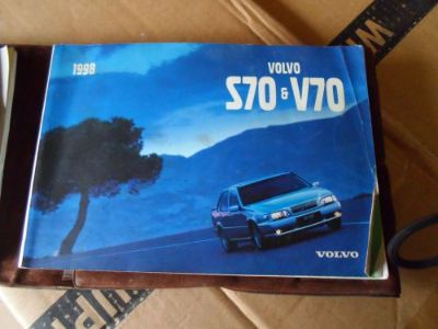 Purchase 1998 Volvo S70 or V70 Owner's Manual with cover motorcycle in Georgetown, Kentucky, United States, for US $19.99