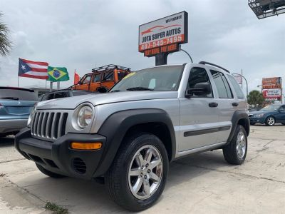 2002 Jeep Liberty Sport (Gray)
