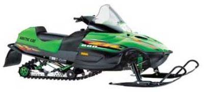2000 Arctic Cat ZR 600 EFI Trail Sport Snowmobiles Francis Creek, WI
