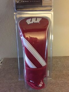 New TEAM EFFORT WISCONSIN BADGERS FAIRWAY HEADCOVER