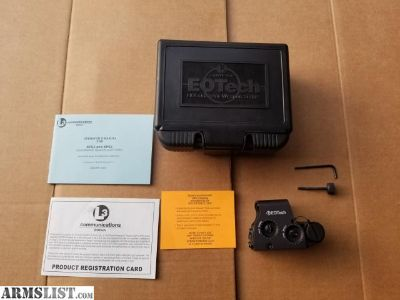 For Sale: EOTech XPS2-2