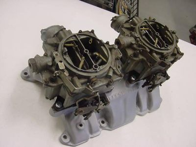 Sell Buick Offy Dual Quad Intake with Carburetors motorcycle in Girard, Ohio, US, for US $9.99