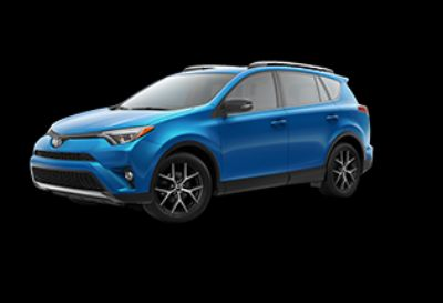 2018 Toyota RAV4 LE Hybrid AWD-i (Electric Storm Blue)
