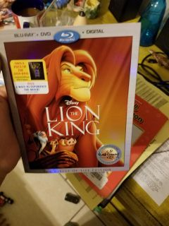 New! Never opened The Lion King circle of life edition