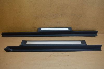 Buy 06-09 W251 MERCEDES FRONT & REAR RIGHT PASSENGER SIDE DOOR SILLS SILL PAIR BLACK motorcycle in Riverview, Florida, United States, for US $104.99