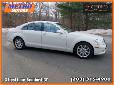 2008 Mercedes-Benz S-Class S550 (White)