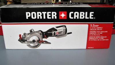 PORTER-CABLE 4-1/2-in 5.5-Amp Corded Circular Saw ~ NEW
