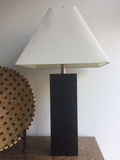 Crate and Barrel Table Lamp - Very Good Condition!