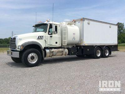 2012 Mack GU713 T/A Fuel & Lube Truck