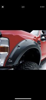 EGR Matte Black Bolt-On Fender Flares for Ford F-150