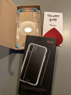 iPhone XS/ X clear case NEW