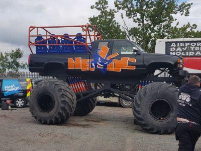 Brand new build monster truck ride truck in the UK ( Europe