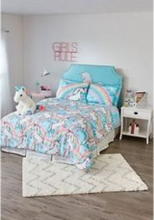 Queen Unicorn Bedding from Justice for Girls