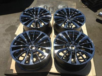 Buy 19'' INFINITI G37 G37s M35 M37 M45 M56 BLACK CHROME RIMS WHEELS ENKIE 17 18 motorcycle in Fountain Valley, California, US, for US $1,895.00