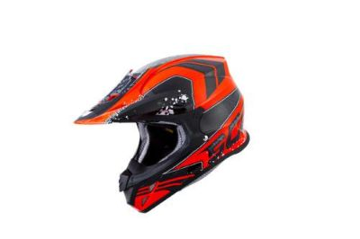 Buy Scorpion VX-R70 Quartz MX/Offroad Helmet Neon Red motorcycle in Holland, Michigan, US, for US $269.95