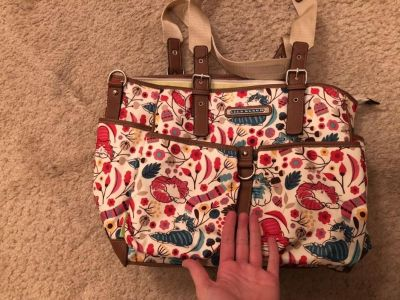 Lily Bloom Bag with tons of pockets