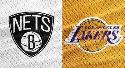 Lakers versus Nets March 22