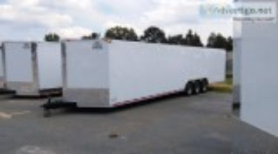 .x ENCLOSED CAR HAULER