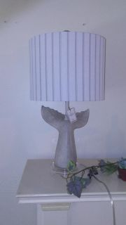 Whale Tail Table Lamp